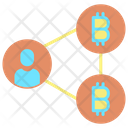Centralized Bitcoin Centralized Bitcoin Connection Icon