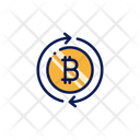 Bitcoin Change Icon