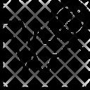 Bitcoin Chart Icon