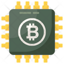 Bitcoin Hardware Bitcoin Technology Bitcoin Chip Icon