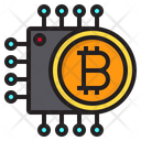 Chip Cryptocurrency Digital Icon