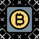 Bitcoin Chip Bitcoin Chip Icon