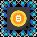 Chip Bitcoin Icon