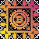 Bitcoin Chip Processor Icon