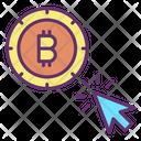 Click Bitcoin Click Bitcoin Payment Icon