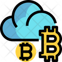 Bitcoin Cloud Bitcoin Cloud Icon