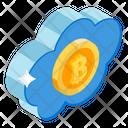 Cloud Technology Bitcoin Cloud Cloud Computing Icon