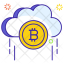 Cloud Technology Bitcoin Cloud Cloud Computing Icon