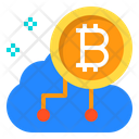 Business Cloud Cryptocurrency Icon
