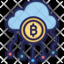 Bitcoin Cloud Bitcoin Cloud Mining Cloud Mining Icon