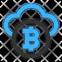 Bitcoin Cloud Icon