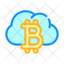 Cloud Mining Color Icon