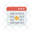 Coding Binary Cryptocurrency Icon