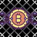 Bitcoin Connection Icon