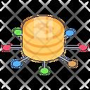 Bitcoin Network Bitcoin Connections Bitcoin Icon