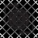 Bitcoin Conversion Swap Exchange Icon
