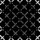 Bitcoin Cpu Chip Blockchain Icon