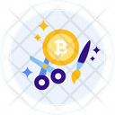 Bitcoin Craft Crafty Icon