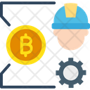 Bitcoin Craft Bitcoin Hardware Bitcoin Mining Icon