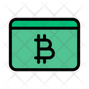 Credit Bitcoin Card Icon