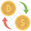 Bitcoin Currency Changer Icon