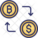 Bitcoin Currency Exchange Bitcoin Exchange Bitcoin Trading Platform Icon