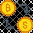 Bitcoin Currency Exchange Bitcoin Exchange Bitcoin Trading Platform Icon