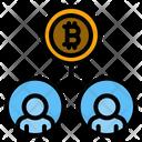 Bitcoin Customer Bitcoin Trader Bitcoin Partner Icon