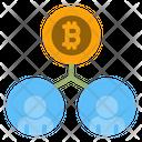 Bitcoin Customer Icon