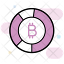 Secure Data Data Protection Bitcoin Data Icon