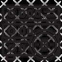 Database Money Bitcoin Cryptocurrency Bitcoin Database Database Icon
