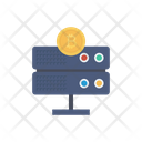 Database Server Bitcoin Icon