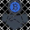 Contract Bitcoin Deal Icon