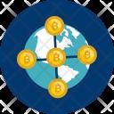 Bitcoin Decentralized Icon