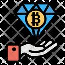Bitcoin Diamond Icon