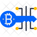 Digital Key Bitcoin Digital Key Bitcoin Icon