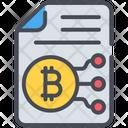 Bitcoin Document Icon