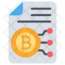 Bitcoin Document Icon