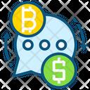 Bitcoin dollar Icon