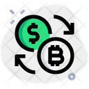 Bitcoin Dollar Exchange Icon