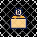 Bitcoin Donation Icon