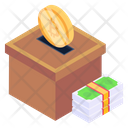 Crypto Donation Bitcoin Charity Bitcoin Donation Icon