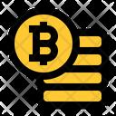 Bitcoin Earning Icon