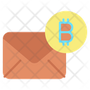 Email Bitcoin Email Bitcoin Mail Icon
