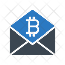 Message Email Bitcoin Icon