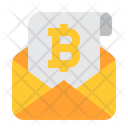 Bitcoin Email Bitcoin Email Icon