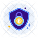 Bitcoin Encrypted Encryption Icon