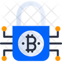 Encryption Bitcoin Encryption Bitcoin Padlock Icon