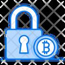 Bitcoin Encryption Data Encryption Bitcoin Security Icon