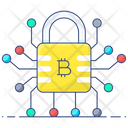 Digital Currency Encryption Bitcoin Encryption Icon